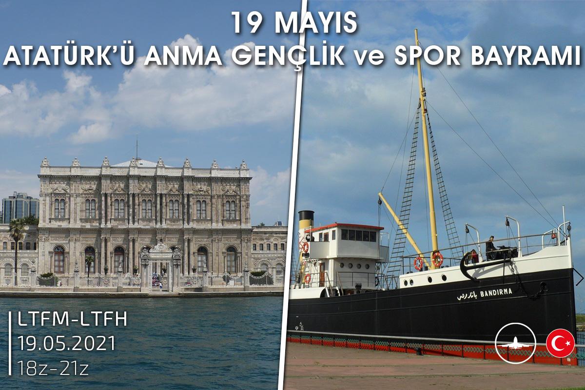 [19 MAY | 18z-21z][TR] 19 Mayıs Atatürk'ü Anma Gençlik ve Spor Bayramı
