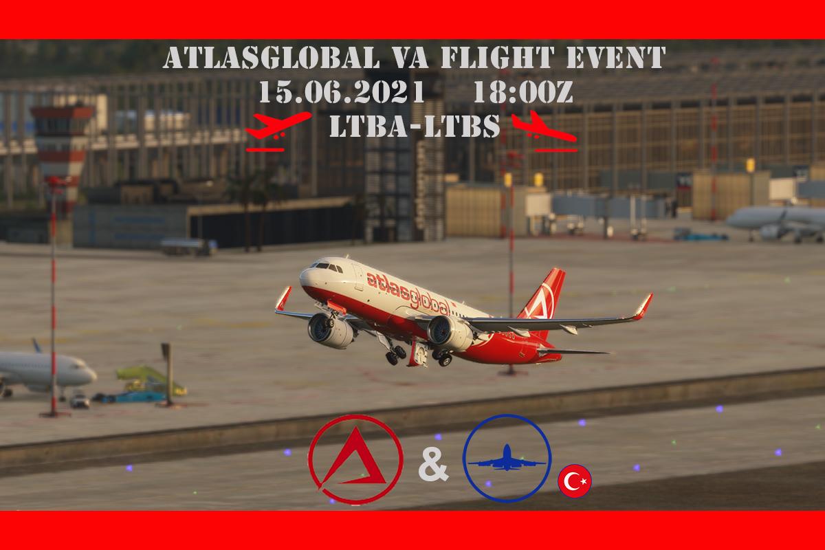 [15 HAZ | 18z-21z][TR+AtlasVA] Atlas Global VA Uçuş Etkinliği